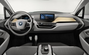 2 - 2014 BMW i3 - Interior View