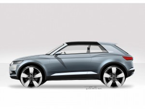 Concept Car Audi crosslane coup /Design