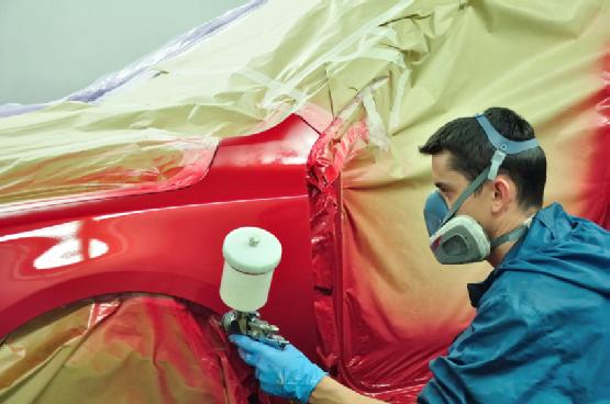 респиратор при покраске авто