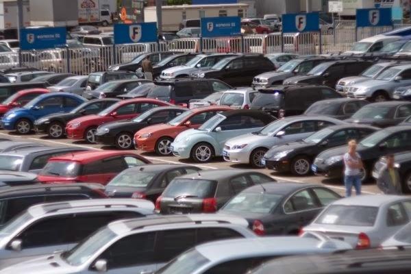 Рынок бу автомобилей Москвы