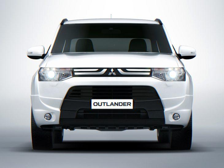 Mitsubishi Outlander Samurai   Обзор автомобиля фото