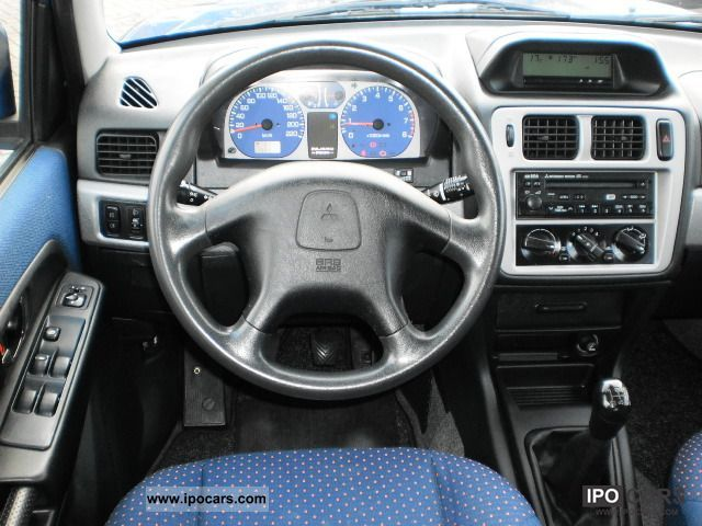 Mitsubishi Pajero pinin 2004 фото