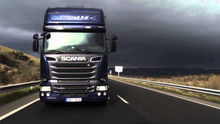 грузовиков скания