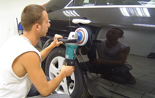 полировать машину самостоятельно