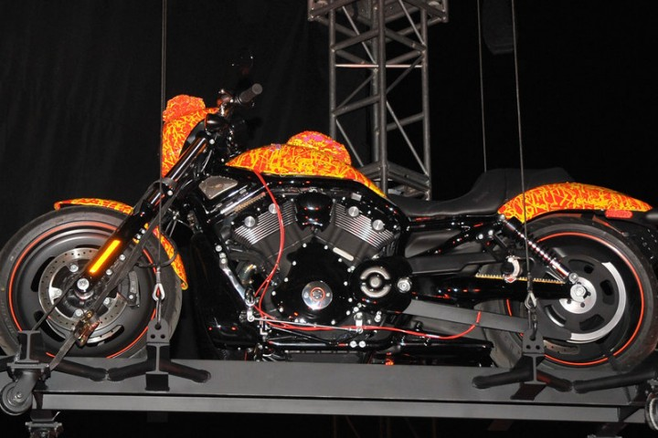 Harley Davidson's Cosmic Starship Unveiling Event