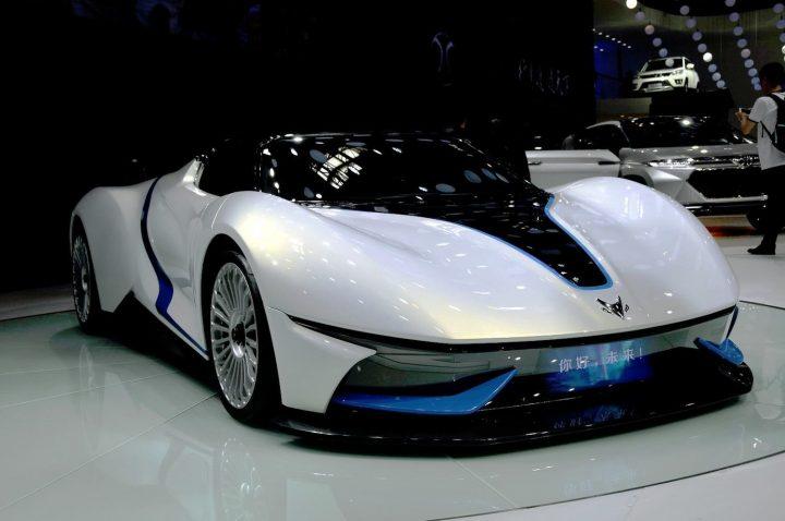 Китайцы сделали суперкар с микротурбиной. фото