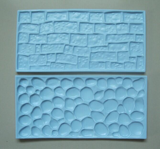 One-Set-Beautiful-font-b-Stone-b-font-and-Brick-Shape-cake-fondant-Mould-Cookware-Dining