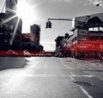 Автомобили Audi следят за светофорами фото
