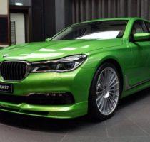 Мощная и очень зеленая Alpina B7 фото