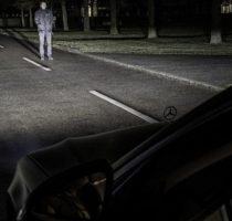 """В Mercedes придумали умный """"пиксельный"""" свет фото"""