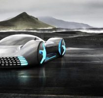 Обычный Mercedes AMG GT Future Concept фото