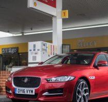 Jaguar и Shell запускают сервис оплаты топлива не выходя из машины фото