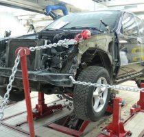 Проверка, ремонт и замена лонжерона в автомобиле фото