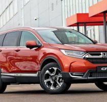 Новая Honda CR V скоро в России фото