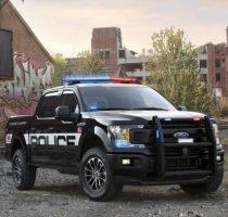 Очень крутой Ford F 150 Police Responder фото