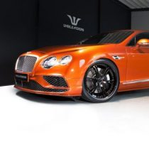 Новый Bentley Continental Supersports фото