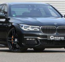 G Power раскочегарила представительский седан BMW фото